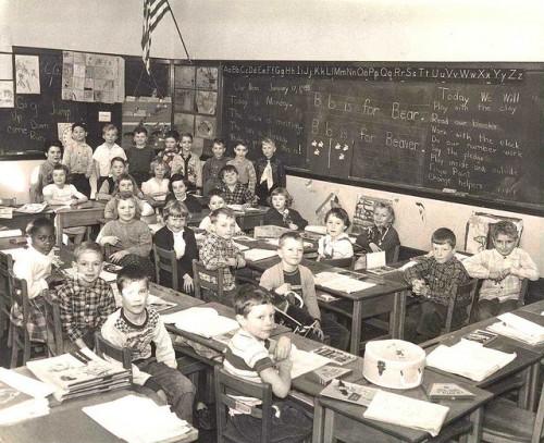 First-Grade Class 1954