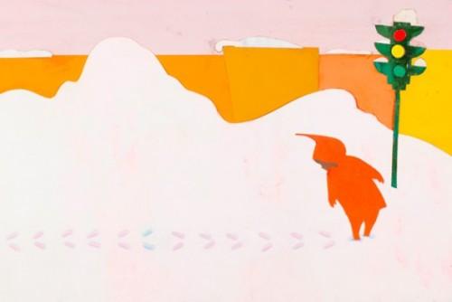 keats snowy day