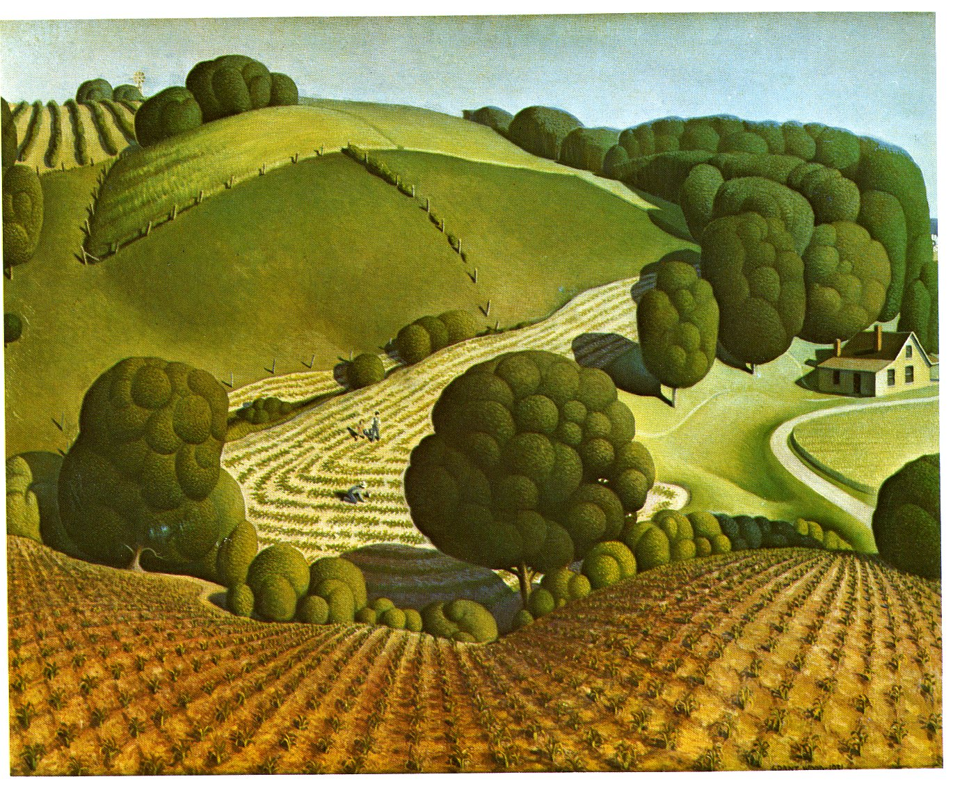 grant wood Famous for its grant wood collection and studio, the crma has more than 5,000 works of art spanning 2,000 years, including works by marvin cone, bertha jaques, james swann, malvina hoffman, and mauricio lasansky.