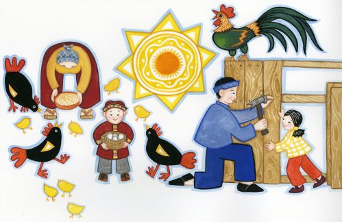 Paschkis cookie jar illustration