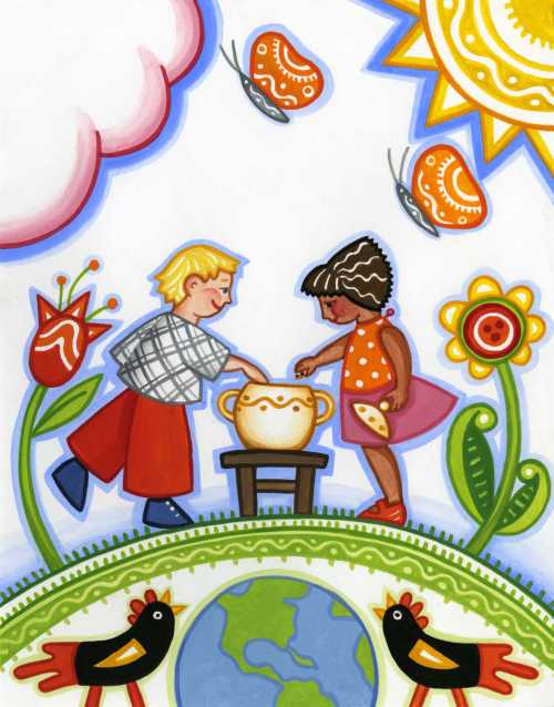 paschkis cookie jar illustration