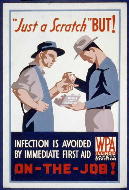 WPA posters | Books Around The Table