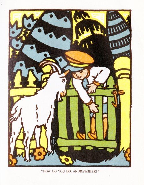 Maud and Miska Petersham: Andrewshek and the White Goat