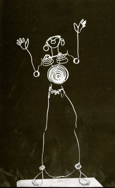Josephine Baker wire sculpture - Alexander Calder