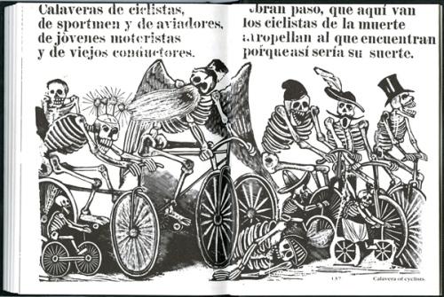Calaveras de Ciclistas - Jose Posada