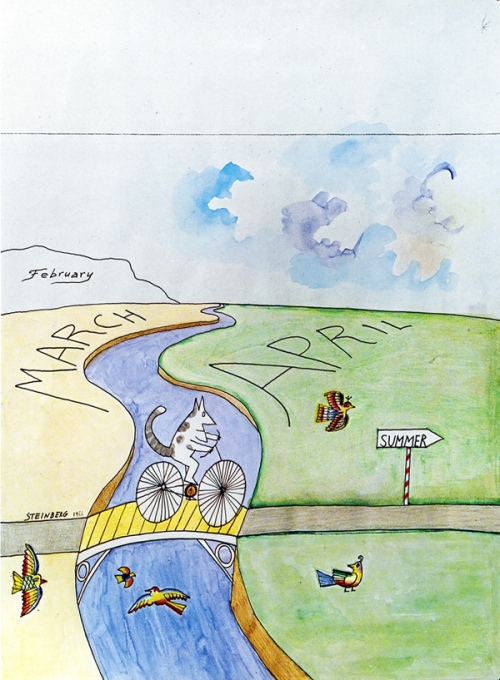 March-April - Saul Steinberg
