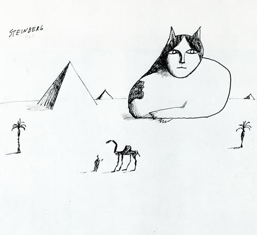 Sphinx - Saul Steinberg