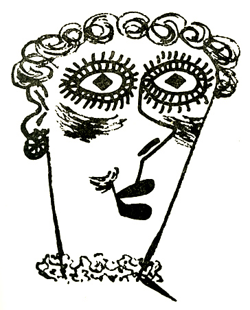 Merry Widow Merry Widow Persistent Faces - William Steig