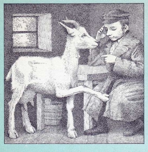 zlateh the goat He collaborated with internationally-renowned american illustrator maurice  sendak on his first children's book, zlateh the goat and other stories, in 1966,  two.