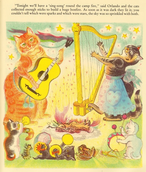 Orlando the Marmalade Cat by Kathleen Hale 1938