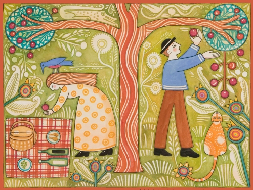 August Picnic by Julie Paschkis