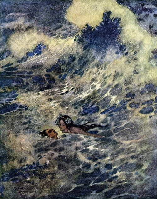 Edmund Dulac-The Little Mermaid