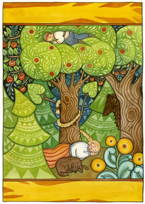Paschkis fairy tale painting