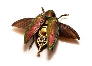 Man-made beetle...