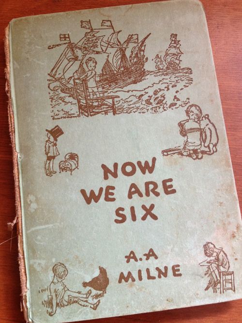 Now We Are Six book