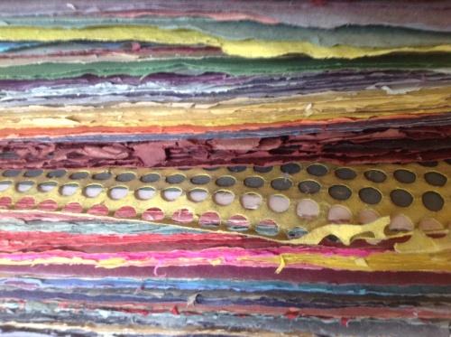 Hand-made Paper, Taller de Papel in San Agustin Etla