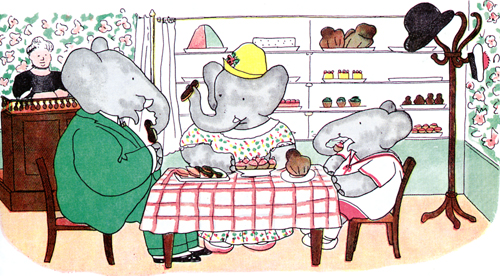 Jean de Brunhoff-The Story of Babar