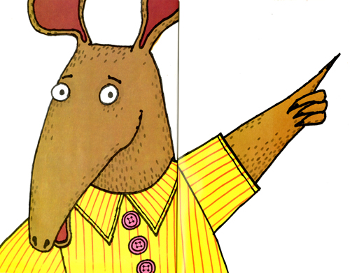Marc Brown-Arthurs Nose