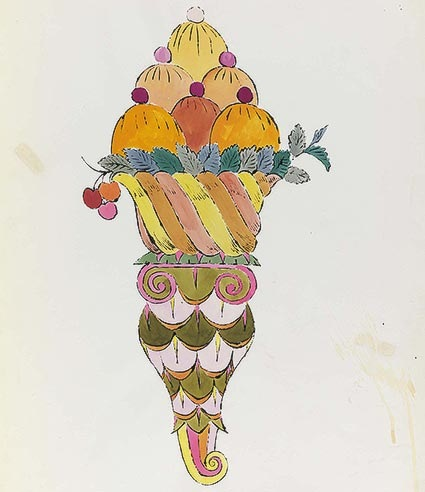 warhol ice cream dessert