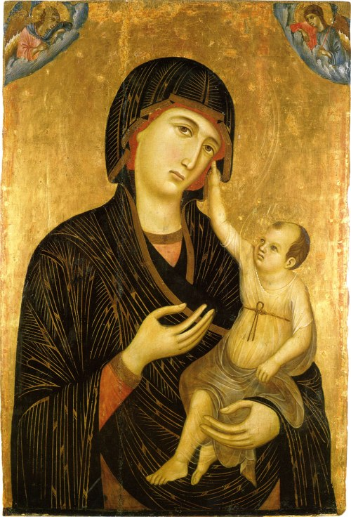 Duccio_The-Madonna-and-Child