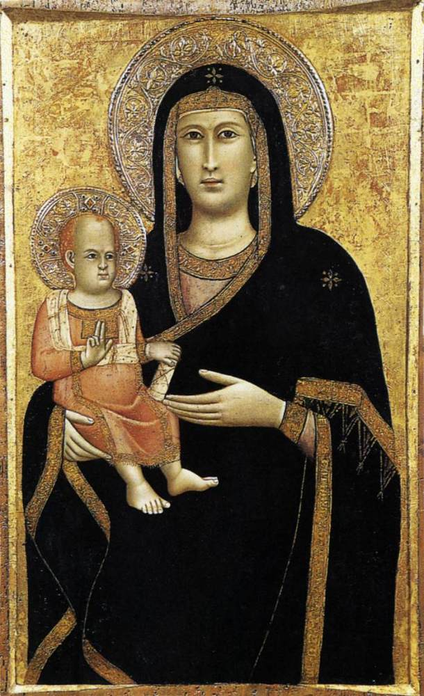 GiottodiBondone_Madonna_and_Child