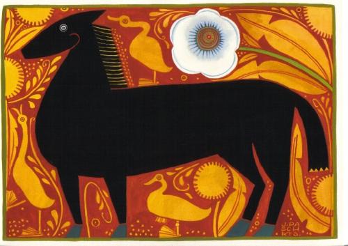 paschkis black horse