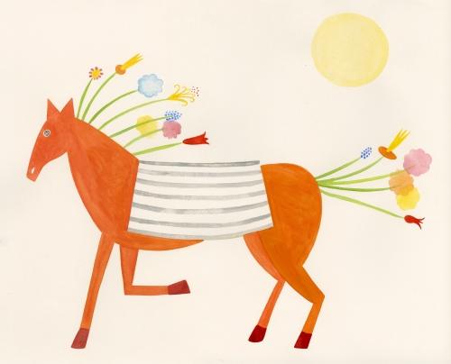paschkis spring horse