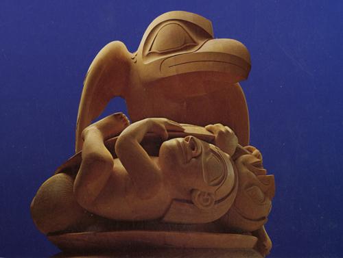 Bill Reid-Haida-Raven and the First Men