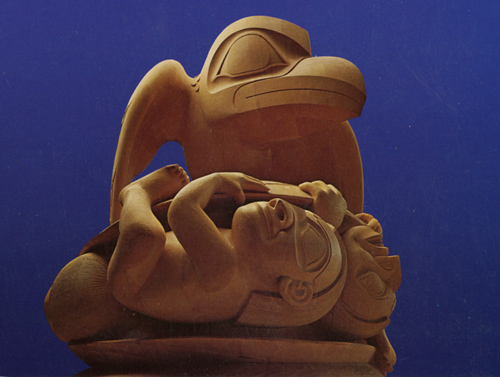 Bill Reid-Haida-Raven and the First Men