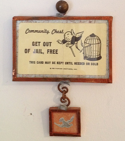 M Chodos-Irvine -Get Out Of Jail Free charm