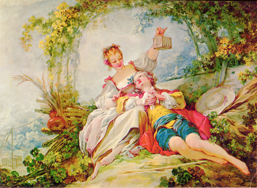 Jean Honore Fragonard-The Cage