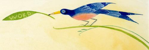Julie Paschkis-Word Bird-Flutter and Hum