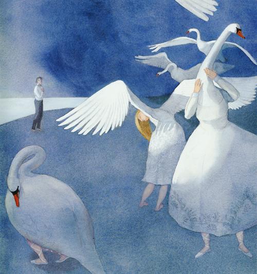 Lizbeth Zwerger-Swan Lake