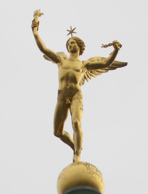 Winged monument Paris