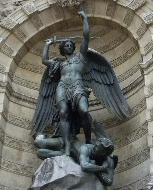 Winged Victory statue Paris