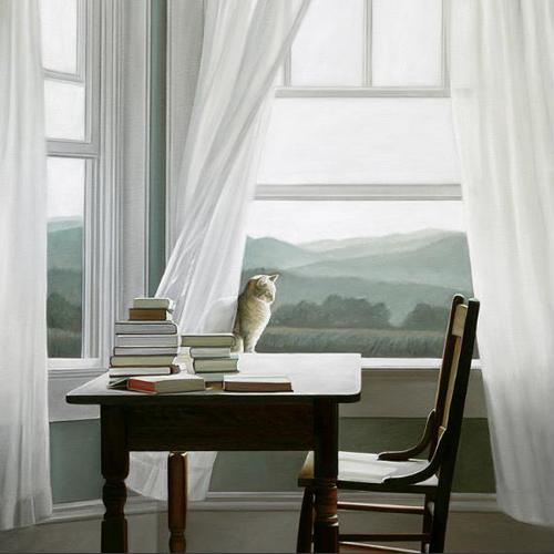 K Hollingsworth-Cat Window books