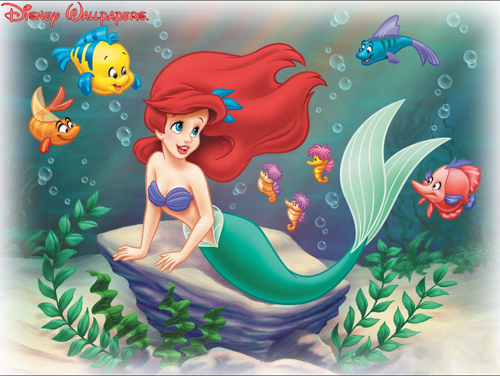 Disneys Little Mermaid Wallpaper