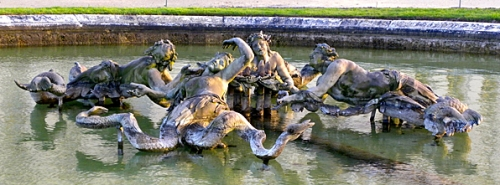 Mermaid fountain at Versailles