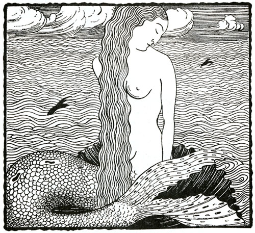 Unknown artist-mermaid