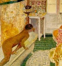 Closer Look at Woman in the Bath by Pierre Bonnard