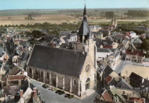 The village of Illiers-Combray.