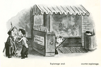 W Steig-Espionage and–  counter-espionage.