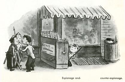 W Steig-Espionage and–  counter-espionage.