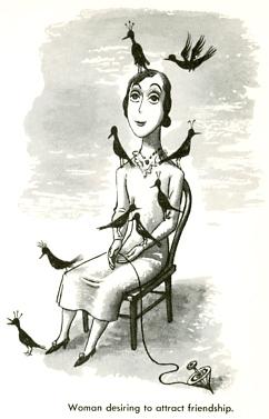 W Steig-Woman desiring to attract friendship.
