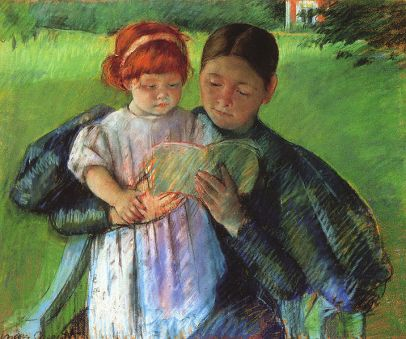 716px-Cassatt_Mary_Nurse_Reading_to_a_Little_Girl_1895