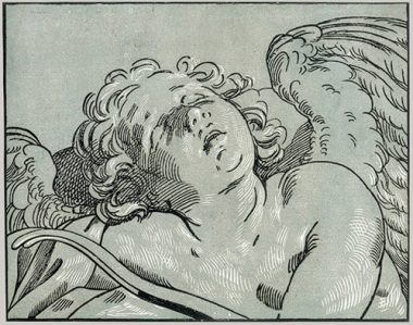 Bartolomeo Coriolano- Sleeping Cupid-mid-17th century