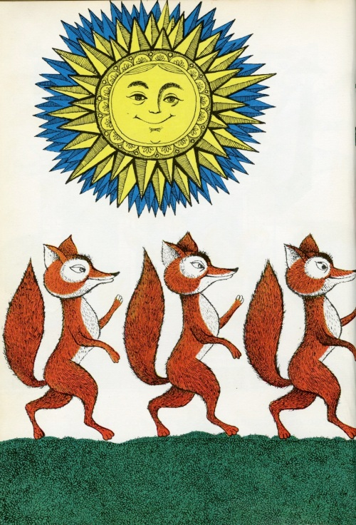 three by three foxes