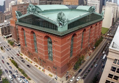 The Harold Washington Library Center