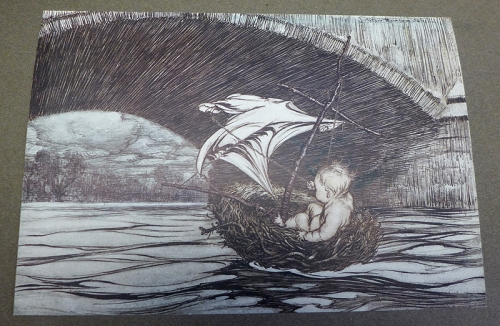 Rackham-Peter Pan-boat under bridge