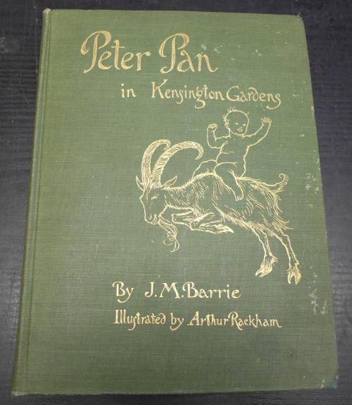 Rackham-Peter Pan-book cover
